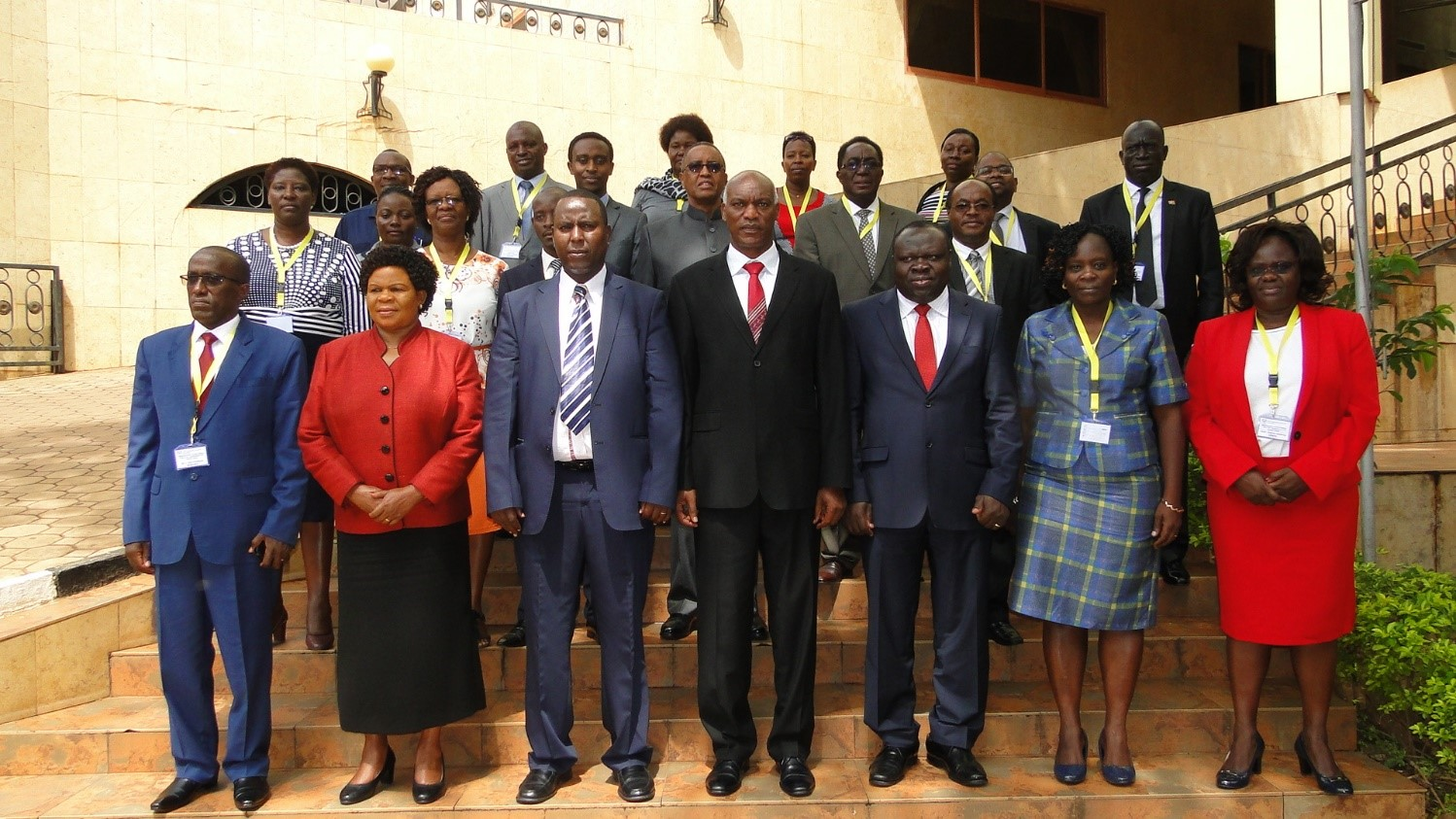 Members of one of the Meeting of IUCEA Executive Committee